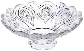 Centre Table Glass Designer Fruit Plate