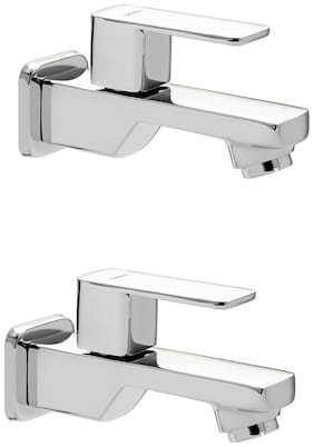CERA - Bib Cock with Wall Flange and Aerator Set of 2 pcs  (Type :- Ruby)