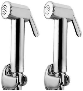 Dr. Homz N Kitch Wall Mount Abs Health Faucets ( Push Controlled )