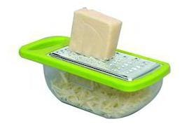 Cheese & Ginger Grater with Basket- Assorted Color- 1Pc Sold By Evershine gifts And household