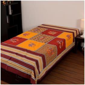 Chokor 141 T C Cotton Printed Single Bed sheets