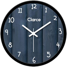 Clarco Plastic Analog Wall clock ( Set of 1 )