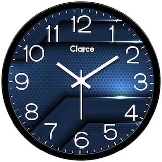 Clarco Plastic Analog Wall clock ( Set of 1 )