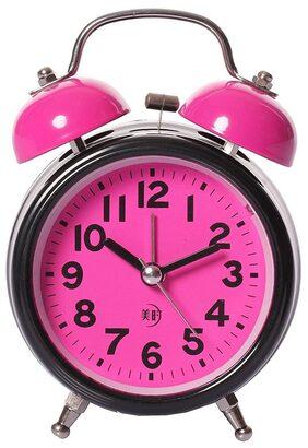 E-DEAL Pink Alarm Clock