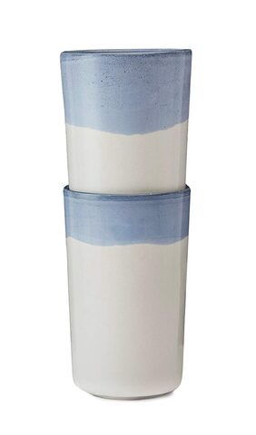 Clay Aesthetics Cylindrical Glass/Tumbler
