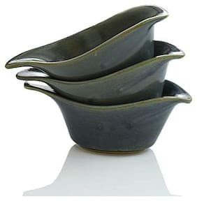 Clay Aesthetics Speckled Grey Sauce Boats