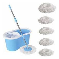 R J star Cleaning Magic Spin Mop