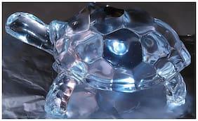Kalptaru Glass Transparent Idol ( Set of 1 )