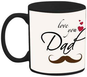 Coffee Mug : Printed Coffee mug- Black