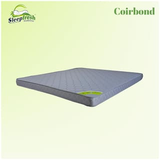 Sleepfresh Coirbond 4 inch Coir Single Size Mattress