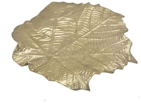 Collectible New Leaf Tray handicrafts product by Bharat HaatTMBH06503