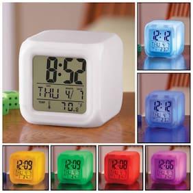 MARKETON Plastic Digital Alarm clock ( Set of 1 )