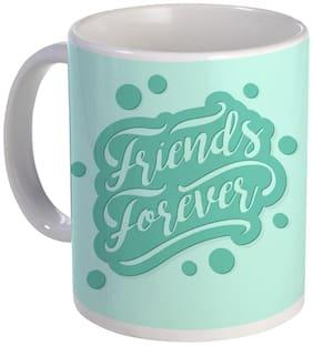 Coloryard Best Happy-Friendship-Day Friends Forver Vintage-Lettering Design Ceramic Coffee Mug Gift