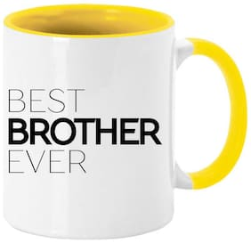 Coloryard Best Happy Rakhi Festival To Best Brother Ever Design Coffee Mug Gift