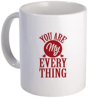 Coloryard Best You Are My Every Thing Happy Karwa Chauth Design On White Ceramic Coffee Mug Karwa Chauth Gift