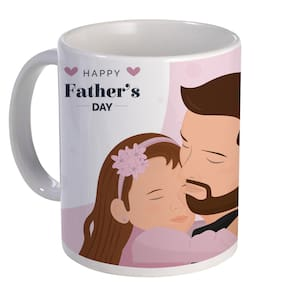 Coloryard Best Happy Fathers Day Gift For Dad Design On White Ceramic Coffee Mug Father Day Gift