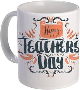 COLORYARD best happy teachers day color ful text design on white ceramic coffee mug gift