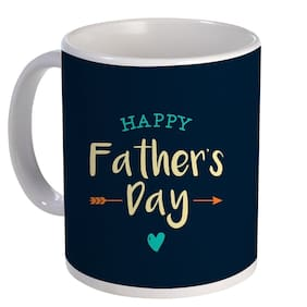 Coloryard Best Happy Fathers Day Design On White Ceramic Coffee Mug Father Day Gift