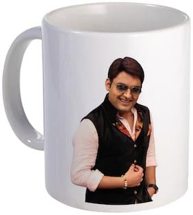 Coloryard Best Comedian Kapil Sharma In Show Dress Design On White Ceramic Coffee Mug