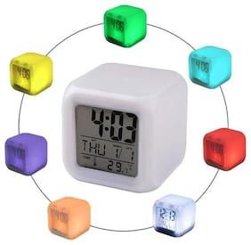 MARKETWALA Plastic Digital Table clock & Alarm clock ( Set of 1 )