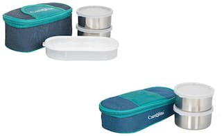 Carrolite Assorted Lunch box ( Set of 1 , 1300 ml )