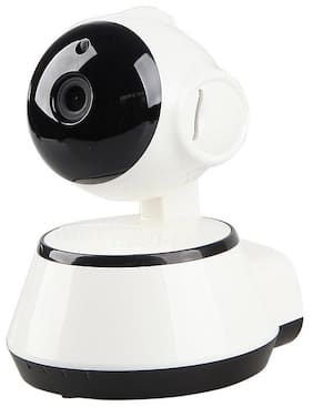 Conbre V380 Smart Wireless HD IP WiFi CCTV Camera for Remote Monitoring from Android and iOS Compatible Smartphone