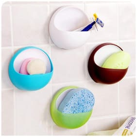 CONNECTWIDE Suction Holder- Oval Shape.New Cute Eggs Design Toothbrush Sucker Holder Suction Hooks Cup Organizer Toothbrush Rack Bathroom Kitchen Storage