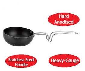 Cook-EZ Tadka Pan Hard Anodized Small Size - 2.2mm Thick - 150ml Capacity
