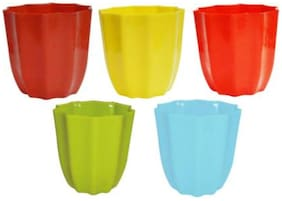 Cool Star Shape Planter Pots for Gardening Plantation  container set for inddor