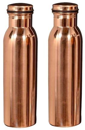 DVM 1000 ml Copper Copper Water bottles - 1 pc
