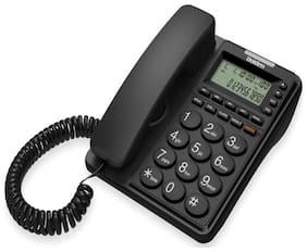 Corded Landline Phone Uniden Ce6409 Black With Speakerphone & Caller Id