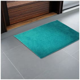 CORE Designed by SPACES Day2Day Turqoise Blue 1 Small  Bath Mat