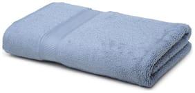 Core Designed By Spaces Season Best Blue Solid 1 Bath Towel