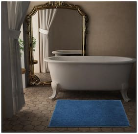 CORE Designed by SPACES Day2Day Cobalt 1  Large  Bath Mat