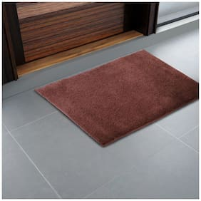 CORE Designed by SPACES Day2Day Maroon 1 Small  Bath Mat
