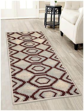 Core Designed By Spaces Unwinders Beige & Brown Solid 1 Carpet