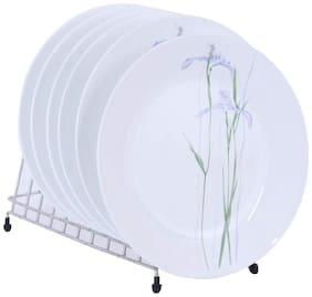 Corelle Asia Collection Shadow Iris - Medium Plate, 6 Pcs Set