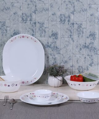 Corelle Floral Fantasy 30 pcs Dinner Set