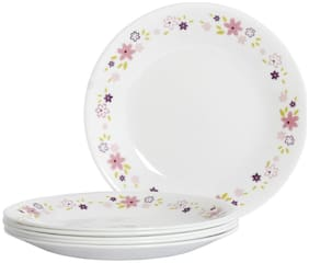 Corelle Livingware Dinner plates- Floral Fantasy (Pack of 6)