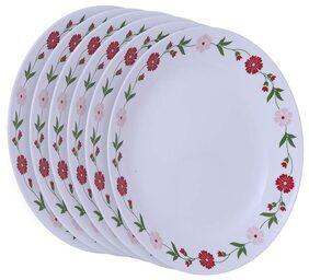 Corelle Livingware Dinner plates- Spring Pink (Pack of 6)