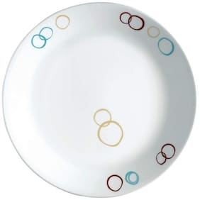 Corelle Livingware Dinner plates- Circles (Pack of 6)