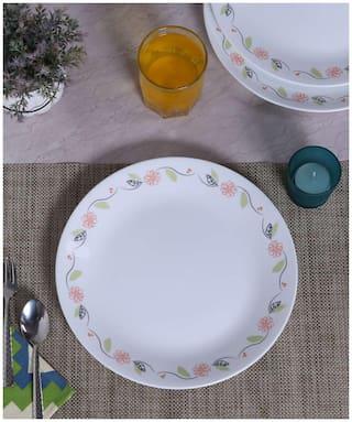 Corelle Livingware Tangerine Garden 6 pcs Dinner Plates