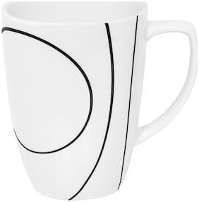 Corelle Porcelain Simple Lines Printed Mug Pack of 4 Piece