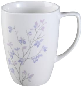 Corelle Porcelain Jacranda Printed Mug Pack of 4 Piece