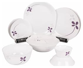 Corelle Round WFW 30 pcs Set - Warm Pansies