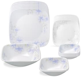 Corelle Square Round Asia 21 SQ pcs set - Lapinue