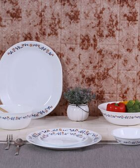 Corelle Vibrant Gloria 21pcs Dinner Set