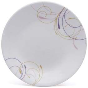 Corelle Violet Dance Dinner Plate, Pack of 6