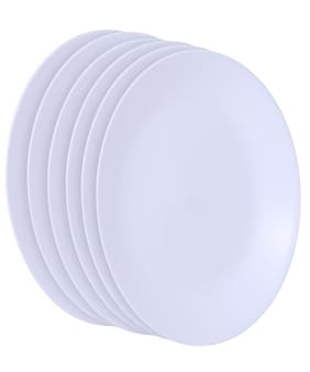 Corelle Winter Frost White Dinner Plate Set;26cm;Set of 6