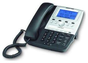 Cortelco ITT-2700BK Corded Feature Telephone Caller ID Programmable Blk/Silver
